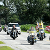 Don Knight   The Herald Bulletin<br /> Indiana Patriot Guard Riders escort Travis Colvill on Saturday to his grandparents' home. Travis' father, Robert Colvill Jr., was killed in Iraq 10 years ago. To view or buy this photo and other Herald Bulletin photos, visit photos.heraldbulletin.com.