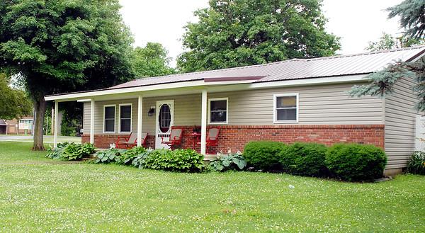 Stu Hirsch | The Herald Bulletin  <br /> Elwood Park Superintendent's house that a park employee lives in.