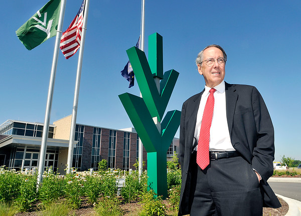 John P. Cleary   The Herald Bulletin<br /> Tom Snyder reflects on his tenure as president of Ivy Tech Community College as he retires from the position at the end of month.