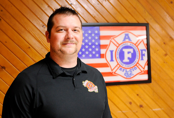 Don Knight   The Herald Bulletin<br /> AFD paramedics Matthew Ulm and Jimmy Denny (not pictured) cared for Kayla Carter after she was injured in a motorcycle accident on Saturday. Carter was eight months pregnant and her daughter was delivered by cesarean section after the accident.