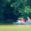 Don Knight | The Herald Bulletin<br /> A pair of anglers try their luck at Shadyside Park on Friday. The forecast for the weekend is calling for sunny and a high of 88 on Saturday and a high of 89 on Sunday with a chance for a thunderstorm according to the National Weather Service.