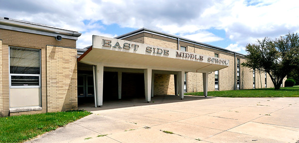 John P. Cleary   The Herald Bulletin<br /> Liberty Christian School is interested in buying the former East Side Middle School building from ACS.