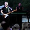 Don Knight | The Herald Bulletin<br /> The Steve Miller Band kicked off Hoosier Parks Summer Concert series on Saturday. From left are Steve Miller and keyboardist Joseph Wooten.