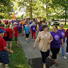 A large crowd of participants and supports turned out at Beulah Park in Alexandria on Friday night for the Relay for Life of Madison County cancer awareness event.