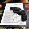 John P. Cleary | The Herald Bulletin<br /> Anyone wanting to purchase a gun must fill out a firearms transaction record before they can buy one.