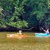 John P. Cleary |  The Herald Bulletin<br /> It was a good day to get out and paddle around Shadyside Lake in a kayak with the lower temperatures and humidity making  it more comfortable to be outside, even if you might have had to dodge some rain showers.