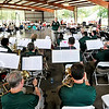 John P. Cleary |  The Herald Bulletin<br /> The Zionsville Concert Band entertains those gathered at the Alexandria Community Band Festival Saturday afternoon at Beulah Park in Alexandria.<br /> They were one of four bands to perform at the festival along with the Tipton Community Band, 38th Infantry Division National Guard Band, and the Alexandria Community Bank.