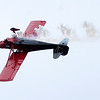 Don Knight   For The Herald Bulletin<br /> Erik Edgren performs during Aviation Days at the Anderson Municipal Airport on Saturday.