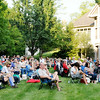 Don Knight | The Herald Bulletin<br /> About 100 people brought their lawn chairs to the home of Jay and Nancy Ricker for a night of jazz music by The Campbell Jazz Continuum in a benefit  concert for the Anderson Symphony Orchestra on Thursday.
