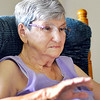 John P. Cleary |  The Herald Bulletin<br /> Barbara Freeman talks about being a foster parent for more then 50 years.  Barbara along with her husband Fred are giving it up at the end of June.