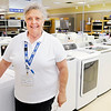 Don Knight | The Herald Bulletin<br /> Sharon Vaughn has worked at the Sears Hometown Store since it opened and she retired from the former Sears location at Mounds Mall after 26 years. The Sears Hometown Store is locally owned and focuses on customer service.