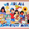 John P. Cleary |  The Herald Bulletin<br /> This is a poster that is on the wall of the playroom in Barbara and Fred Freeman's home for their foster children.