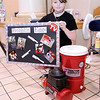 "Don Knight | The Herald Bulletin<br /> Sierra Rich was looking for an easier way to clean eggs so she came up with ""Bubblin Eggs"" for the Invention Convention at Frankton Elementary on Tuesday. An air compress sends bubbles through a bucket of water to clean the eggs."