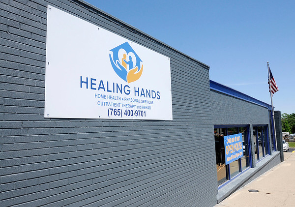 Don Knight   The Herald Bulletin<br /> Healing Hands purchased the former Social Security Administration office at 216 E. 9th St. and is bringing 200 jobs to Anderson.