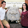 John P. Cleary | The Herald Bulletin<br /> Twins Andrew and Mya Thomas are co-valedictorians for Lapel High School this year.