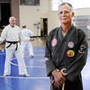 Don Knight | The Herald Bulletin<br /> Randy McVay teaches karate at the Mill Creek Civic Center in Chesterfield.
