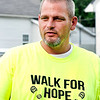 John P. Cleary | The Herald Bulletin<br /> Volunteers for Walk For Hope gathered with Ryan Troub to cleanup Walnut Street Park Thursday evening in advance of their event & walk this Saturday at the park to raise awareness for addiction.