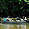 Don Knight | The Herald Bulletin<br /> DNR surveys the fish population at Shadyside Lake on Wednesday.