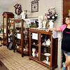 John P. Cleary | The Herald Bulletin <br /> Shari Collins, manager of the Posy Shop, looks out over the showroom as she reflexes about the family business she has been a part of for most of her life and now will close the first of August.