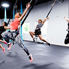 Don Knight | The Herald Bulletin<br /> Bungee instructor Charity Rees leads a demonstration during a grand opening for Aerial Fit2Fly at their 901 Meridian location in Anderson. Classes start on July 2nd.