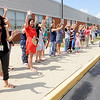 Don Knight | The Herald Bulletin<br /> There was confetti, cheers and a few tears as teachers said goodbye to their students on the last day of school at Erskine Elementary on Friday. ACS students return to the classroom on August first.