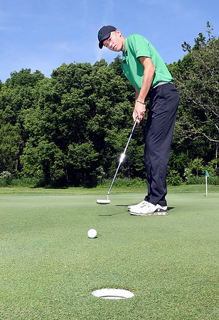 John P. Cleary | The Herald Bulletin<br /> Austin Davis of Pendleton Heights HS, THB's Golfer of the Year.
