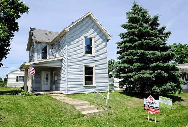 Don Knight | The Herald Bulletin<br /> Home for sale on Monroe Street in Alexandria on Tuesday. For the second year in a row a study by SmartAsset has found Alexandria to be the most affordable place to live in Indiana.
