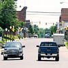 Don Knight | The Herald Bulletin<br /> Traffic travels through Harrison Street in downtown Alexandria on Tuesday. A study released Tuesday listed Alexandria is the most affordable place to live Indiana.