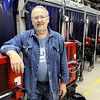 Don Knight | The Herald Bulletin<br /> Welding instructor Robert Richwine has received the local Ivy Tech President's Award.