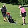 John P. Cleary | The Herald Bulletin<br /> Bob Windlan and daughter, Katie Copeland playing golf together at Grandview Golf Course.