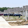 John P. Cleary | The Herald Bulletin  <br /> Bison Ridge Estates housing development being built around Elwood Golf Links in Elwood has some people moved in their homes aready.