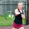 Don Knight | The Herald Bulletin<br /> The Herald Bulletin girls tennis player of the year Alexandria's McKenzie Adams.