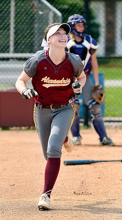 John P. Cleary | The Herald Bulletin<br /> Kaitlyn Bair of Alexandria HS, THB's Softball Player of the Year.