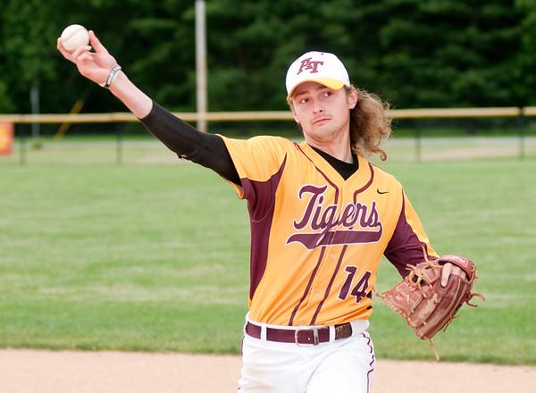 Don Knight | The Herald Bulletin Baseball players of the year, Alexandria's Trey Stokes and Brennan Moorehead.