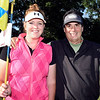 John P. Cleary | The Herald Bulletin<br /> Katie Copeland and her father Bob Windlan, play golf together at least once a week.