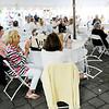 Don Knight | The Herald Bulletin<br /> St. Vincent Anderson celebrated their 125th Birthday with a White Party at the Anderson Country Club on Thursday. Foundation Director Nancy Anderson said between 200 and 250 people were in attendance.