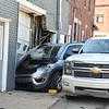 Car into building in Markleville.