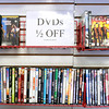 DVD's are half off at Dave's Video in Anderson as the store liquidates their collection ahead of going out of business after 22 years in Anderson.