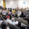 The City Council Chambers were full and several more people watched from the auditorium as the Anderson City Council discussed the Anderson Fast Forward plan during their meeting on Thursday.