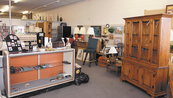 Burns Auction Gallery & Thrift Store for biz profile.  This is a shot of their retail thrift store,