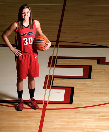 Frankton's Kelsey Key was named the All Herald Bulletin Girls Basketball Player of the Year.