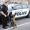 APD officer Matt Jarrett has a new K9 partner. Hoss is a Belgian Malinois trained to sniff out narcotics and hunt down suspects. He replaces one of two K9s, Kilo and Magnum, killed last year in the line of duty three weeks apart.