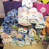 Bethany Pointe residents made more than 50 baby blankets for the AU nursing students when they travel to Uganda  to conduct health clinics.