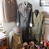 Military uniforms are on display at the Alexandria Historical Museum on Saturday. The museum opened for the first time this year on Saturday.