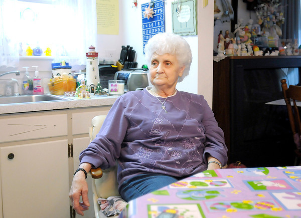 Camilla Kidwell grew up in the Irondale neighborhood and now lives in the childhood home of her grade school sweetheart who she was married to for 51 years. Kidwell is not sure where she would go if she had to move out of her home to make way for the proposed Mounds Lake Reservoir.