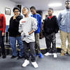"Don Knight / The Herald Bulletin<br /> Willie Dennison, 11, sings a solo as the youth choir NuFaze performs ""Break Every Chain"" as the Gospel Music Workshop held a membership rally and concert at the Greater Progressive Temple of Faith on Saturday."