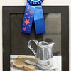 "John P. Cleary/The Herald Bulletin<br /> Courtney Simpson, a Anderson High School junior, won Best of Show with her painting ""Morning Toast"" in the annual Student Art Exhibit."