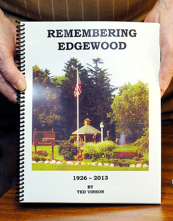 John P. Cleary   The Herald Bulletin<br /> Ted Vinson has written a book on the history of Edgewood.