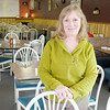 Don Knight / The Herald Bulletin<br /> Rachel Forrester, owner of Rachel's Hi Way Cafe, is excited to be the first business chosen for a cash mob by the Alexandria-Monroe Chamber of Commerce.
