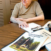 John P. Cleary | The Herald Bulletin<br /> Ted Vinson, a 63-year resident of Edgewood, has written a book on the history of that community, 'Remembering Edgewood'.  The project was commissioned by the Madison County Historical Society.